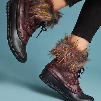 Sorel Out 'N About Cashmere-Lined Lux Boots