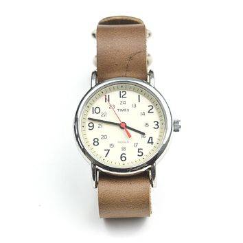 LEATHER WATCH STRAP - HORWEEN CHROMEXCEL
