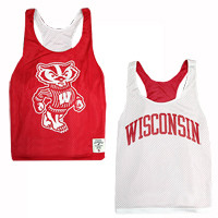 Wisconsin Badgers Women's Reversible Pinnie Tank