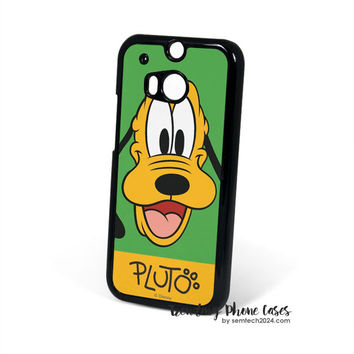 Pluto Cute Dog Disney HTC One M8 Case Cover for M9 M8 One X Case