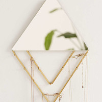 Alexia Line Jewelry Storage Hanging Mirror | Urban Outfitters