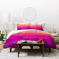 Rebecca Allen A Study In Purple Duvet Cover