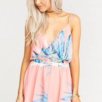 Olympia Romper ~ Tropical Twist