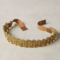 Telkari Belt by Anthropologie in Gold Size: