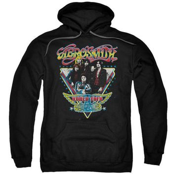 DCCKM83 Aerosmith - Triangle Stars Adult Pull Over Hoodie