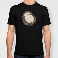 Plump Hedgehog T-shirt by Sophie Corrigan