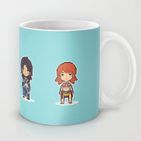 16-bit Final Fantasy XIII Mug by Ihatetombs