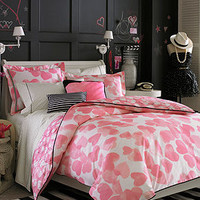 Teen Vogue Bedding, Faded Hearts Decorative Pillow Pack - Teen Vogue - Bed & Bath - Macy's