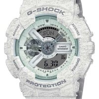 Casio G-Shock Big Case - White Heather Pattern - Magnetic Resistant - 200M