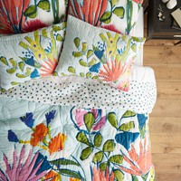 Lulie Wallace Floral Quilt