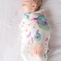 Single Knit Swaddle Blankets