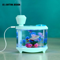 460ML USB Humidifiers with LED Night Light Air Ultrasonic Humidifier Essential Oil Aroma Diffuser Mist Maker Atomizer Best Gift