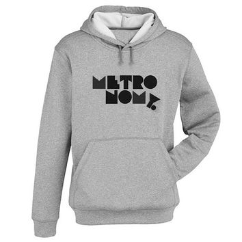 metronomy Hoodie Sweatshirt Sweater Shirt Gray and beauty variant color for Unisex size
