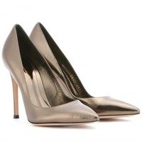 Metallic Leather Pumps  - Gianvito Rossi : mytheresa.com