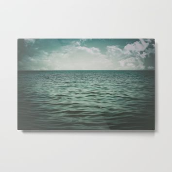 Into The Sea Of Lost Souls  Metal Print by Faded  Photos