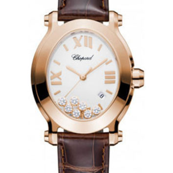 Chopard - Happy Sport - Oval - Rose Gold