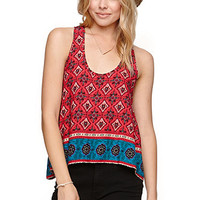 LA Hearts Cutout Racer Swing Tank at PacSun.com