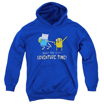 Adventure Time - Fist Bump Youth Pull Over Hoodie