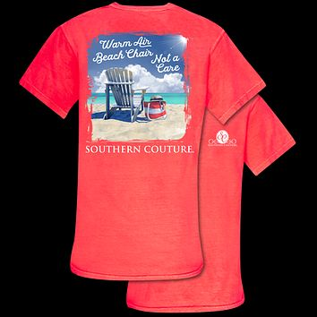 Southern Couture Comfort Warm Air Beach Chair Comfort Colors T-Shirt