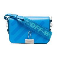 Blue Binder Clip Crossbody Bag by OFF-WHITE