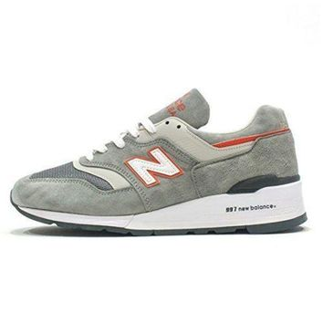 ICIK1IN new balance 997 made in the usa explore by sea sneaker gray m997cht