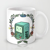Philosophical Time: BMO Mug by lycaeas | Society6