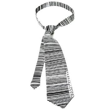 ONE HUNDRED 80 DEGREES UPC Necktie in Black and White