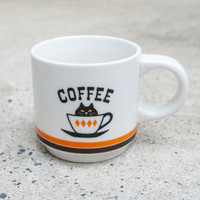 Happy Cat Day Coffee Mug Orange