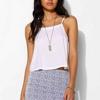 Staring At Stars Textured-Knit Bodycon Mini Skirt - Urban Outfitters