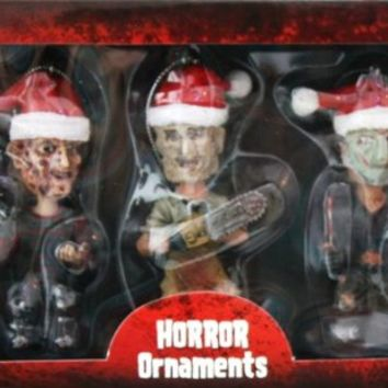 New Line Cinema Horror Ornaments Freddy Jason
