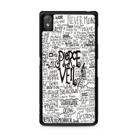 Pierce The Veil Song Lyric Sony Xperia Z3 case