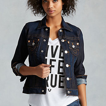 HAND PICKED WOMENS TRUCKER JACKET