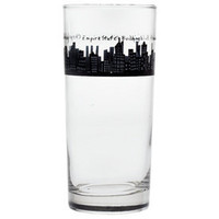 212 Glass 15oz, Dinnerware, 212 New York Skyline at www.fishseddy.com.