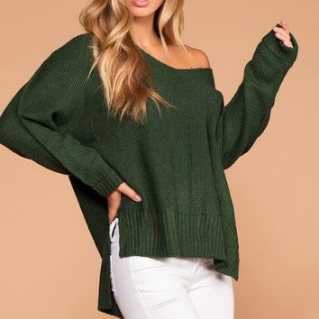 Ethel Sweater - Hunter Green