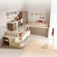 TEENAGE BEDROOM TIRAMOLLA 180 | TUMIDEI