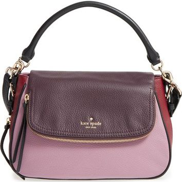 kate spade new york 'cobble hill - deva' leather crossbody bag | Nordstrom