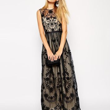 Needle & Thread | Needle & Thread Vintage Floral Maxi Dress at ASOS