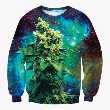 The Big Bud - Cannabis Graphic Crew Sweatshirt - CannaCrew