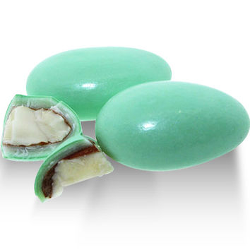 Jordan Almond Pastel Green - Almond - Sconza - Usa - 3 oz