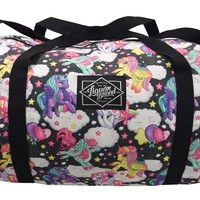 Liquorbrand Pegasus Rainbow Unicorn Kawaii Oversized Duffel Bag