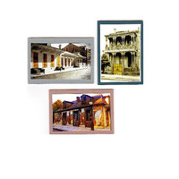 New Orleans Architecture Art, Set of 3 ACEO Miniature Fine Art Prints, French Quarter and Garden District