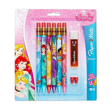 Paper Mate Mates Mechanical Pencil with Lead, 6-Pack, Disney (1928098)