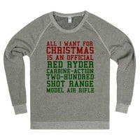 All I Want for Christmas is a Red Ryder Carbine Action Rifle