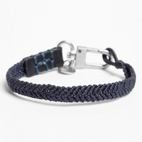 Men's Caputo & Co. Knotted Nylon Bracelet