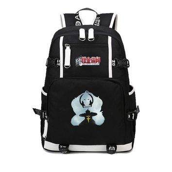 Anime Backpack School kawaii cute Fullmetal Alchemist Backpacks Children Backpack Students Rucksack Kids Travel School Bags Teenages Canvas Shoulder Bag AT_60_4