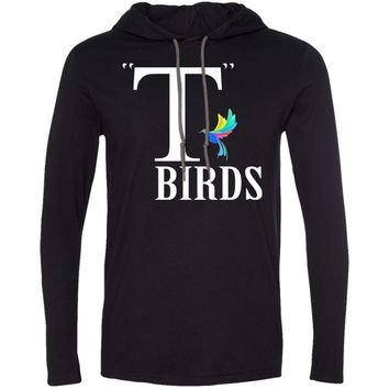 T-bird colorful 2 987 Anvil LS T-Shirt Hoodie