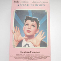 VHS A Star Is Born Judy Garland Sealed New