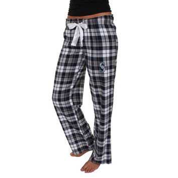 Seattle Mariners Women's Reign Flannel Plaid Pant – Navy Blue