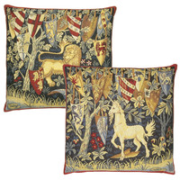 King Arthur Lion & Unicorn Cushion Covers