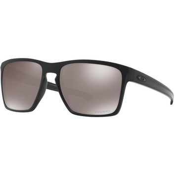 One-nice™ Oakley NEW GENUINE Sliver XL Matte Black Prizm Polarised Adults Sunglasses